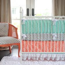 Coral And Teal Bedding Sets Nursery Beddings Coral And Gray Bedding As Well As Gray And