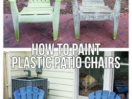 Green Plastic Outdoor Chairs Patio 2 Plastic Patio Chairs How To Paint Plastic Patio