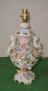Vintage Porcelain Light Fixtures Italian Capodimonte Chandelier Sweet Roses Would Look Great With