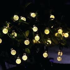 amazon outdoor string lights outside light globes tech solar outdoor string lights ft led warm