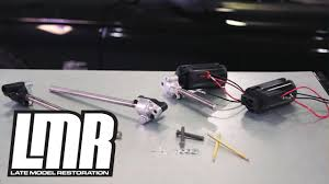 mustang power seat track repair kit install 92 98 youtube