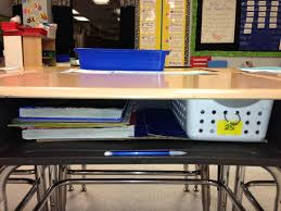 School Desk Organization Ideas Grade Fancy Keeping Students Desks Organized Classroom