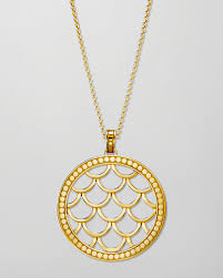 gold necklace with charm images John hardy 18k gold naga pendant necklace in metallic lyst jpeg