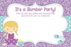 50 beautiful slumber invitations baby