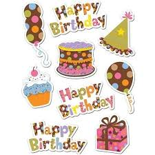 birthday stickers dots on chocolate happy birthday stickers wooks