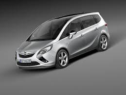 opel minivan model opel zafira tourer 2012