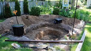 Backyard Soil How To Build A Backyard Garden Pond Empress Of Dirt