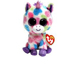 wishful unicorn beanie boos small rainbow