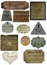 halloween apothecary jar labels harry potter lotions halloween potion bottles pinterest