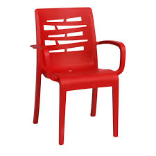 Stacking Dining Chairs by Red Outdoor Dining Chairs