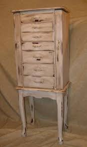 Whitewash Jewelry Armoire Vintage Jewelry Armoire Distressed By Everlastingthreads On Etsy