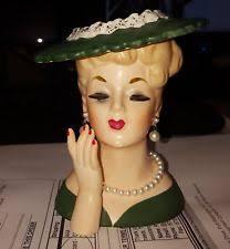 Napco Lady Head Vase Head Vase Other Headvases Ebay