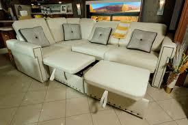 Rv Sectional Sofa Winnebago Rv Features Rest Easy Photos