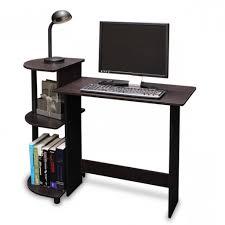 stylish portable computer desk with computer table small corner