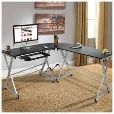 Desktop Computer Desk Bestchoiceproducts Rakuten L Shape Wooden Corner Computer Desk