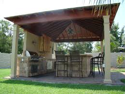 Gazebo Designs With Kitchen by Terrific White Wooden Pergola Ceiling Roof Over Midcentury Stacked
