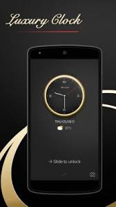 theme clock luxury clock theme free android app android freeware
