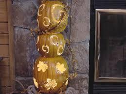 lighted pumpkins for halloween 6 ways to make a pumpkin topiary diy