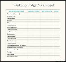 sle wedding budget template template update234