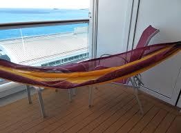 h ngematte auf balkon aidaperla kabine 12276 carmens cruisediary