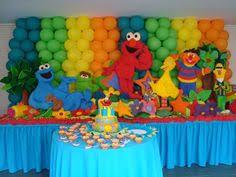 sesame decorations sesame 3 decoration birthday cookie big bird