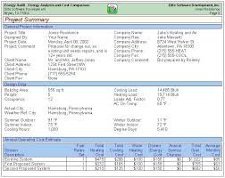 Energy Audit Report Template energy audit sle reports