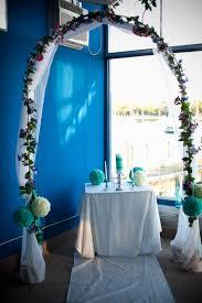 wedding arch pvc pipe diy blue wedding wedding arch