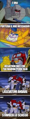 Transformers Meme - transformers meme ita il messaggio aa pinterest meme