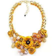 big flower necklace images Rosy pink necklaces pendants hot sale transparent buycoolprice jpg