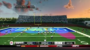 ncaa football 14 360 gameplay uconn at buffalo full game with