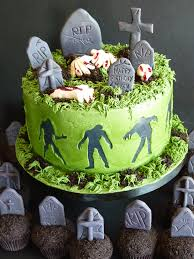 Halloween Decorations Cakes Zombie Cake Google Search For Other People Pinterest