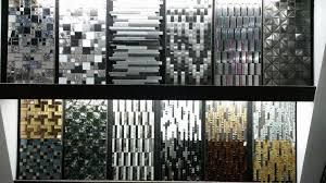 metal kitchen backsplash tiles sa089 lands tile linear silver stainless steel 3d mosaic wall tile