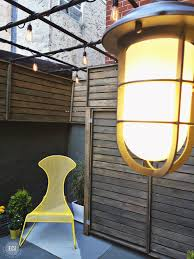 Diy Modern Patio Furniture Urban Patio Diy Makeover East Coast Creative Blog