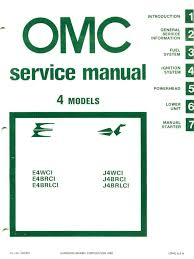 1981 johnson evinrude 4hp outboards service manual pdf