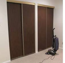 How To Build A Sliding Closet Door Home Dzine Bedrooms How To Make Folding Closet Doors