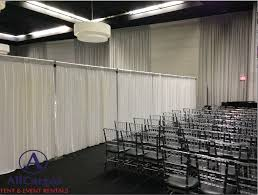 pipe and drape backdrop allcargos tent event rentals inc pipe drape backdrop