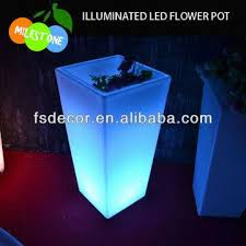 large led flower pot outdoor led garden lights global sources