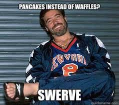 Swerve Memes - pancakes instead of waffles swerve vince russo quickmeme
