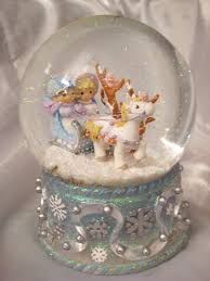baptism snow globes personal collection a world within