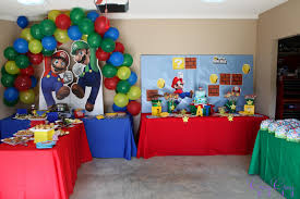 Super Mario Home Decor by Greygrey Designs My Parties Super Mario Birthday Party
