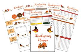 thanksgiving planner a of balance