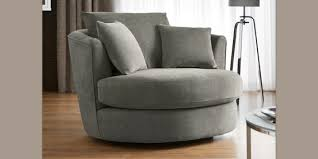 buy hampton large swivel snuggle seat 2 seats plush chenille mid