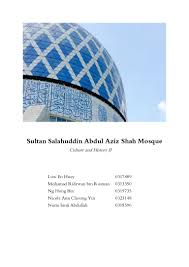 shah alam blue mosque report