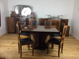art deco dining room set by osvaldo borsani for sale at pamono