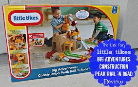 little tikes big adventures construction peak rail u0026 road review
