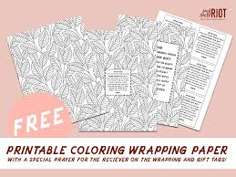 photo wrapping paper new free printable wrapping paper prayer pack pink salt riot