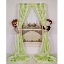 Childrens Nursery Curtains by Curtain Critters Infant Toddler Nursery Zoo Wild Animal Jungle