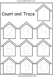 Free Printable Worksheets For Preschool Teachers 219 Best Pre K Numbers Counting Images On Pinterest Number