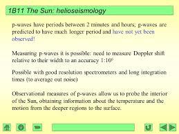 Temperature Of The Interior Of The Sun 1b11 Foundations Of Astronomy The Sun Silvia Zane Liz