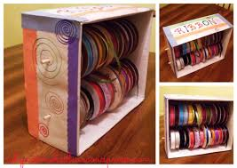 Decorate Cardboard Box Ribbon Dispenser Why Not Make This